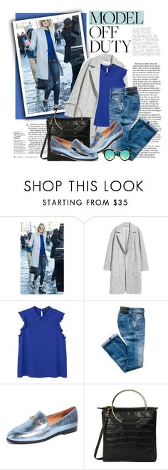 """""""Gigi Hadid Street Style"""" by virginia-laurie ❤ liked on Polyvore featuring MANGO, Matiko, Little Liffner and Krewe"""