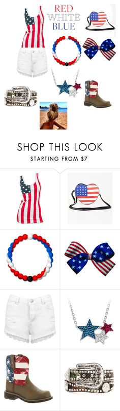"""""""Untitled #608"""" by makia115 ❤ liked on Polyvore featuring Lokai, Miss Selfridge, Ariat, Nocona and Life's a Beach"""