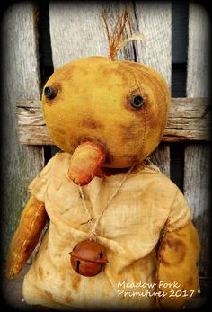"Primitive Folk Art Handcrafted 20"" Spring Easter Farmhouse Obadiah Duck Doll-Art Doll-Vintage-Whimsical-FAAP, Hafair Team by MeadowForkPrims on Etsy"