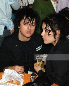 Billie Joe Armstrong of Green Day and wife Adrienne Armstrong **exclusive coverage** Billie Joe Armstrong, Adrienne Armstrong, Neil Armstrong, Billy Green Day, Kids Choice Award, Pop Punk, American Pride, Paramore, Gucci Men
