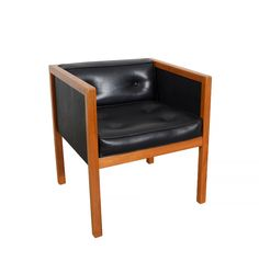 Lounge Chair Cube Chairs George Nelson Herman Miller Mid century Modern by HearthsideHome on Etsy