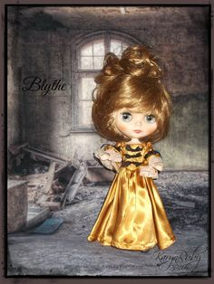 Blythe    Victorian Dress  Vintage Inspired    by by KarynRuby