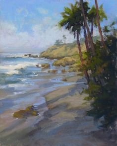 Laguna Morn'  Pastel on On Archival Paper  20 x 16 by Kim Lordier