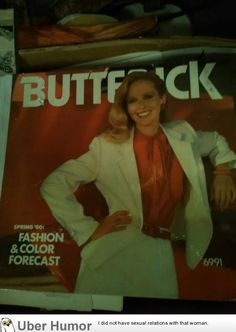 "When your magazine title contains ""Butt"" and ""ck"" you need to be careful about image placement. Magazine Titles, You Magazine, Ck Fashion, Awkward Pictures, Uber Humor, Funny Sites, Fashion Forecasting, Comic Sans, Lens Flare"