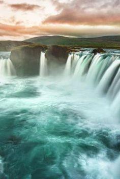 Travel: Waterfall of the Gods, Ireland by irma