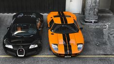 Bugatti Veyron & Ford GT40 - Top Gear Search For Ultimate Cars In London.