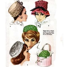 Pillbox Hats: slightly smaller hat that had no brim adn was flat at the top with straight sides. Description from pinterest.com. I searched for this on bing.com/images
