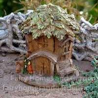 Leaf Topped Terrarium House