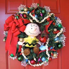 wreath grinch head door hanger - Google Search