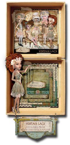 Vintage Lace, Decorative Boxes, Frame, Home Decor, Picture Frame, A Frame, Interior Design, Frames, Home Interior Design