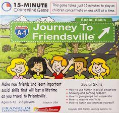 Journey to Friendsville Best Seller! Social Games, Speech And Language, Autism, Languages