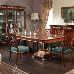 Sala da pranzo Ermitage in stile Impero | Vimercati Classic Furniture