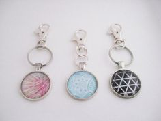 Totally cool!!!  DIY Glass Orb Keychain