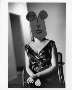 ©Inge Morath-Untitled from the Mask Series with Saul Steinberg 1961-1962