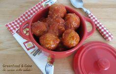 Polpette di miglio al sugo #cirio #cuoreitaliano #cucinanaturale http://blog.giallozafferano.it/greenfoodandcake/polpette-di-miglio-al-sugo/