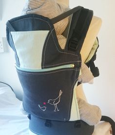 Organic charcoal and turquoise baby carrier Baby Carriers, Charcoal, Organic, Turquoise, Backpacks, Bags, Handbags, Green Turquoise, Backpack