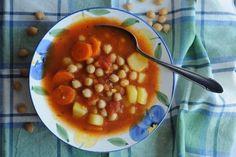 Prosta zupa z ciecierzycy z puszki Chana Masala, Cooking, Ethnic Recipes, Food, Kitchen, Essen, Meals, Yemek, Brewing