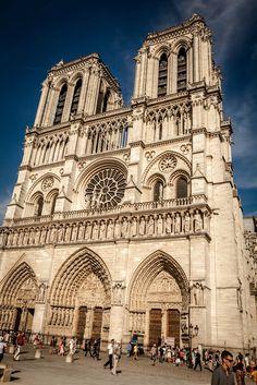 Notre Dame. Paris France.