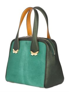 PATRICIA AL'KARY - PONYSKIN AND LEATHER KIKA BAG