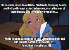I can relate. Poor Alice.