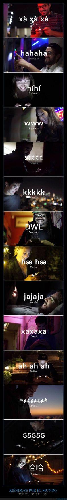 Lo importante es reírse mucho :) - Da igual cómo se haga, pero que se haga :)