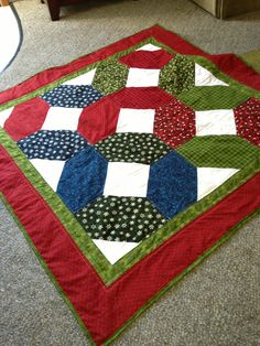 Christmas quilt!