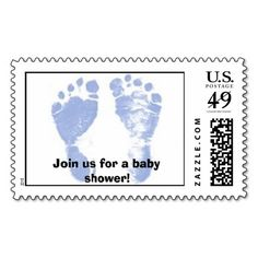 Baby Shower, Join us for a baby shower! Stamp