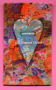 """Sacred Site"" mixed media art - Cloth Paper Scissors"