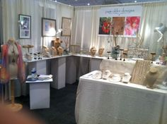 Pam Older Designs Trade Booth Set Up