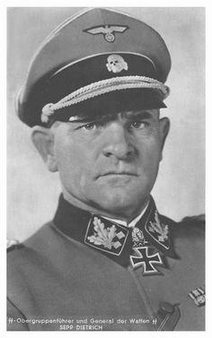 "SS-Obergruppenfhr. u. General d. W-SS Josef Dietrich. Kdr. SS-Inf.R. (mot). ""LSSAH"". RK. 4.7.1940. EL (41) 31.12.1941. S. (26) 14.3.1943. Br. (16) 6.8.1944."