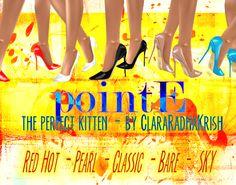 pointE heels - IMVU - IMVU Creator - ClaraRadhaKrish - kitten heels
