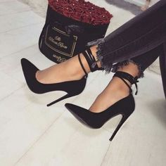 c56c21bbb3 LOVE these 😍 Shoes Heels Black