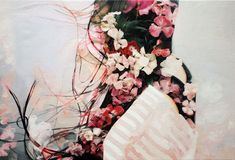Pakayla Biehn's paintings derived from double exposure photography