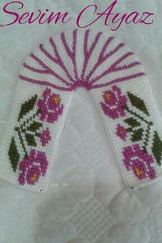 Bhvv Tunisian Crochet Patterns, Crochet Square Patterns, Crochet Shawl, Cross Stitch Patterns, Easy Crochet Slippers, Baby Slippers, Knitting Socks, Diy And Crafts, Crafty