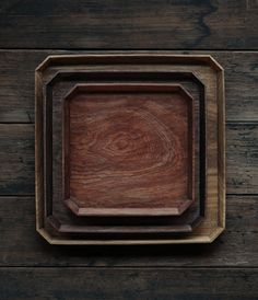 collectorandco:  wooden trays / analogue life