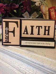 Faith, Personalized Blocks