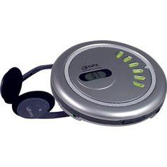 Sony Walkman Portable SkipFree CD Player & AM FM Radio