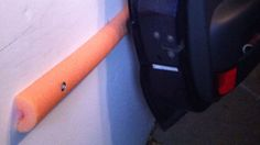 Protect Your Car Doors from Your Garage with a Pool Noodle