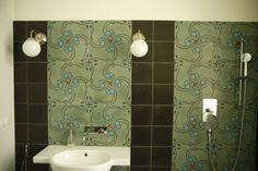 MOZA Cementtiles Manufactory Hungary Hungary, Cement, Curtains, Shower, Bathroom, Prints, Rain Shower Heads, Washroom, Blinds