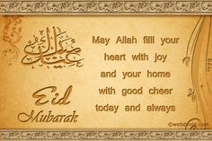 Eid mubarak Eid Mubarak Card, Eid Mubarak Greetings, Good Cheer, Joy, Feelings, Captions, Cards, Inspiration, Biblical Inspiration