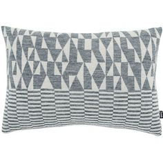 Knitted Pillow 23x15 Alpaca Gray by Fuss