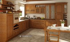Classic kitchen units - BACH