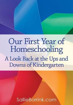 Would you like an honest story of a first year of homeschooling? Here are the ups and downs of our kindergarten experience.