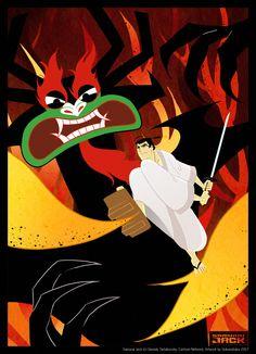 Samurai Jack - It may one of my favorite cartoons.