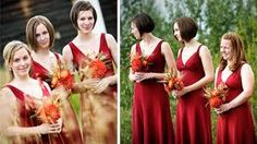 red orange yellow wedding colors - Google Search