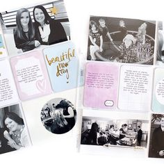 """""""Sometimes you just want black + white photos for a certain look on your scrapbook pages. Love this by @itworksforbobbi using #ProjectLife by Heidi Swapp cards. #HSProjectLife @hkswapp"""" Photo taken by @beckyhigginsllc on Instagram, pinned via the InstaPin iOS App! http://www.instapinapp.com (04/24/2015)"""