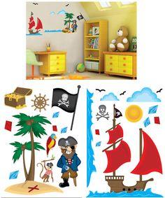 Art Applique Pirates Wall Sticker - Wall Sticker Outlet