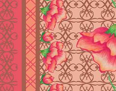 """Check out new work on my @Behance portfolio: """"Flores"""" http://be.net/gallery/41495095/Flores"""