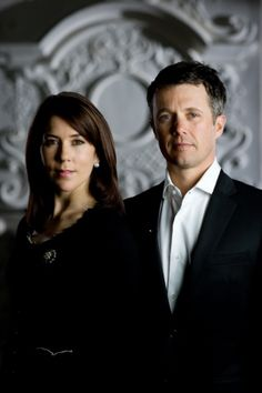Crown Prince Frederik & Crown Princess Mary of Denmark; the Crown Prince's marathon record is three hours and six minutes! Wow!!