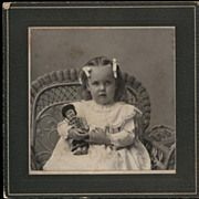 Little Girl and Doll (ca. 1900)